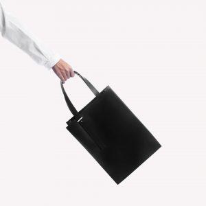 DA04 กระเป๋าโท้ท M สีดำ