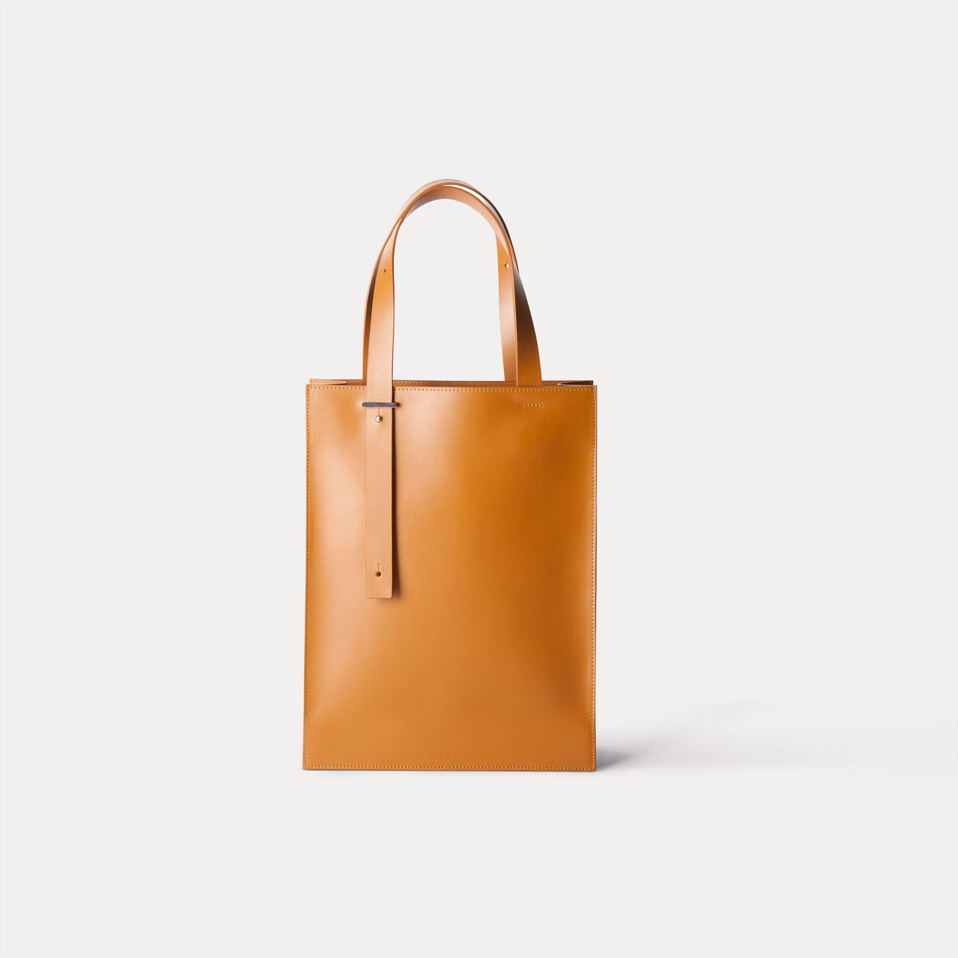 DA04 กระเป๋าโท้ท M สีน้ำตาล