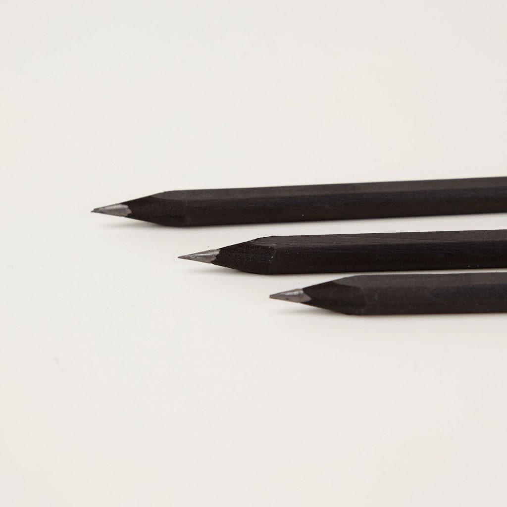 black pencil minimal