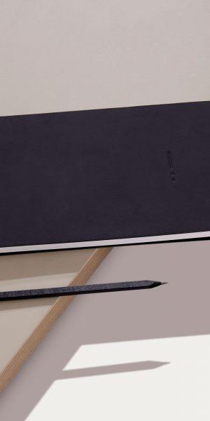 pencil notebook minimal