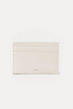 กระเป๋าบัตร DA08 หนัง สีเทา dash.